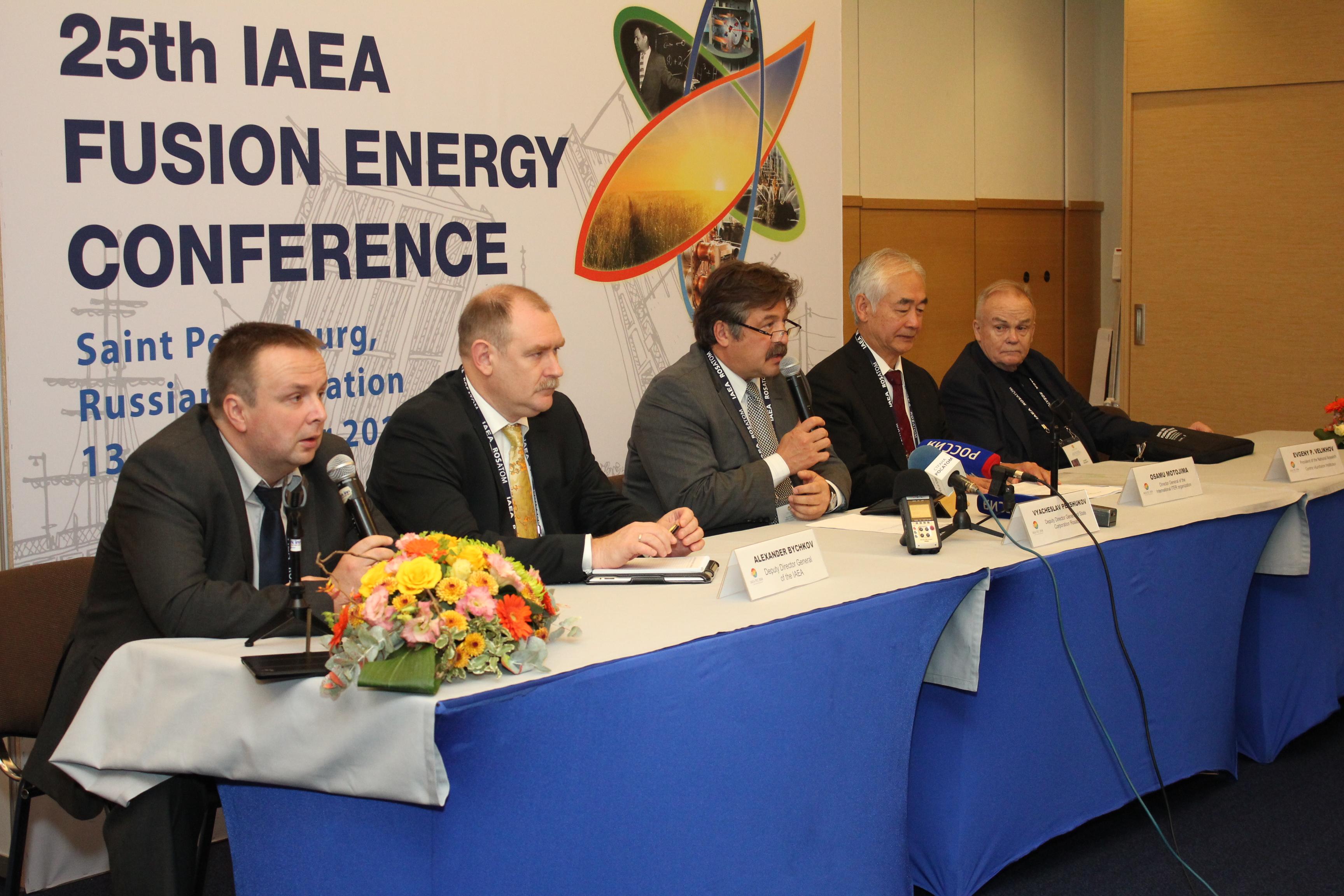 V Petrohradu byla zahájena XXV. Mezinárodní konference o energii termojaderné syntézy