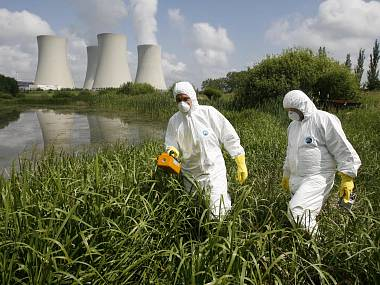 V Temelíně budou nacvičovat měření radioaktivity
