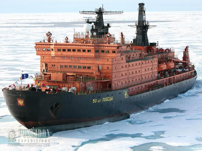 Souvisime.cz: Jaderný ledoborec – ekologické námořní plavidlo