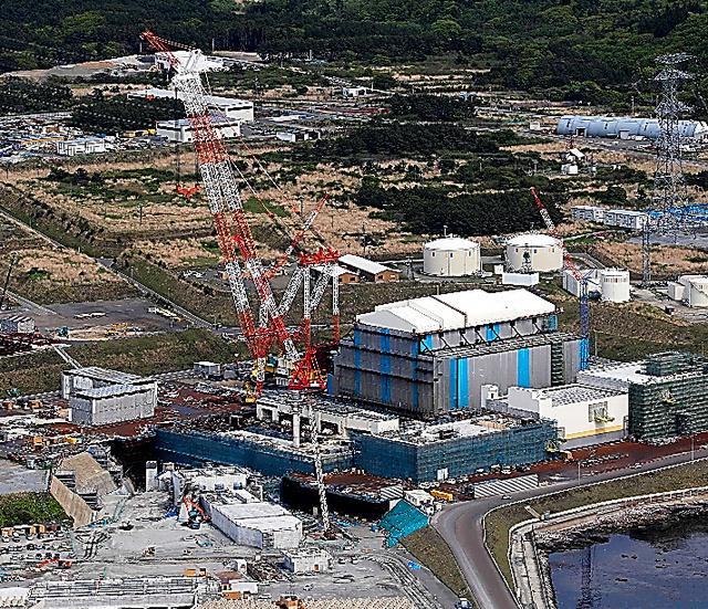Stavba první japonské JE po Fukušimě bude dokončena vroce 2020