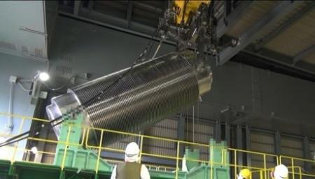Fukushima Daiichi 4 last used fuel removal - 460 (Tepco)