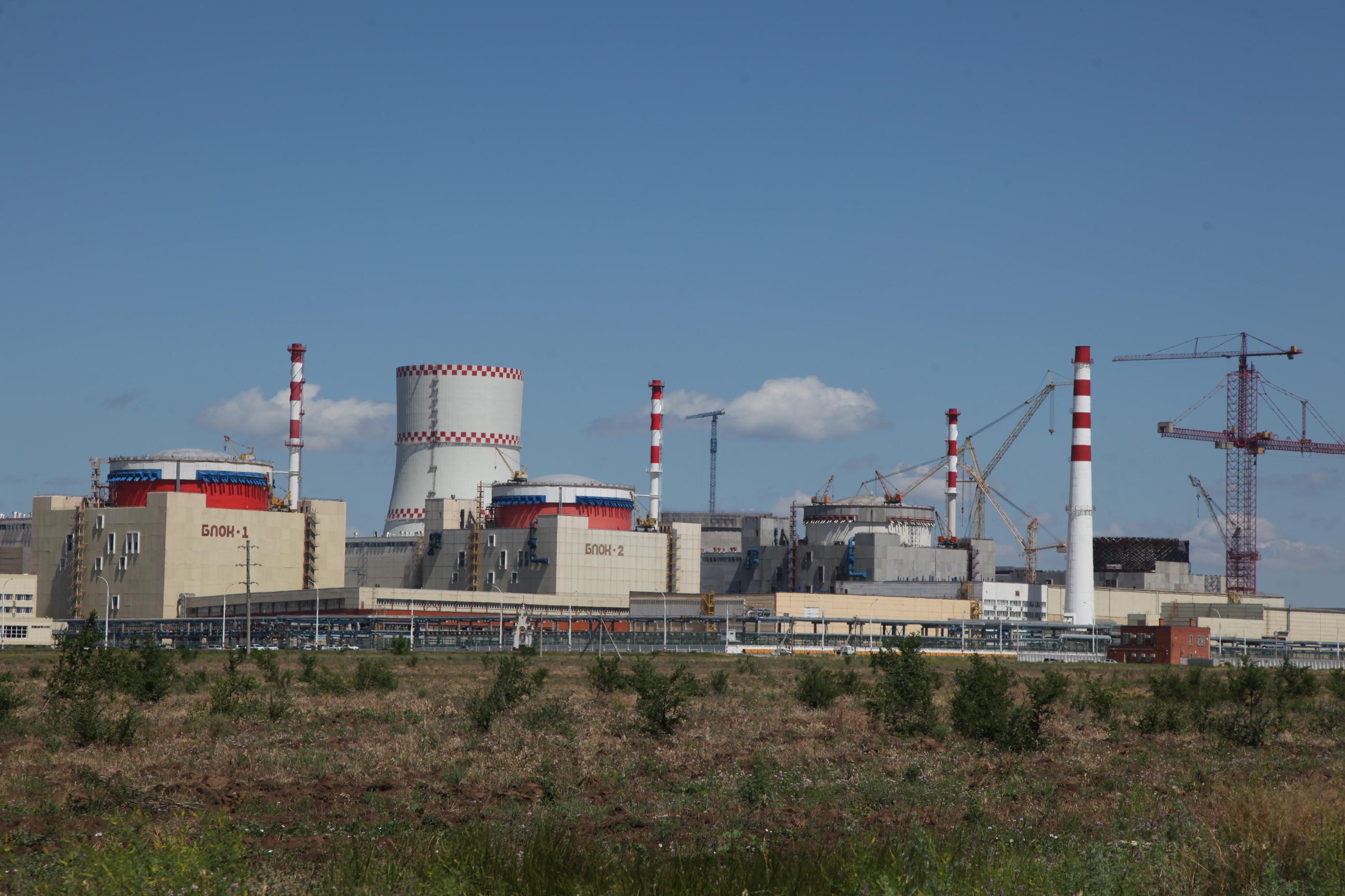 Probíhá spouštění třetího bloku Rostovské JE