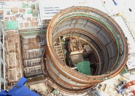 Haiyang Unit 1 Nuclear Island 201206