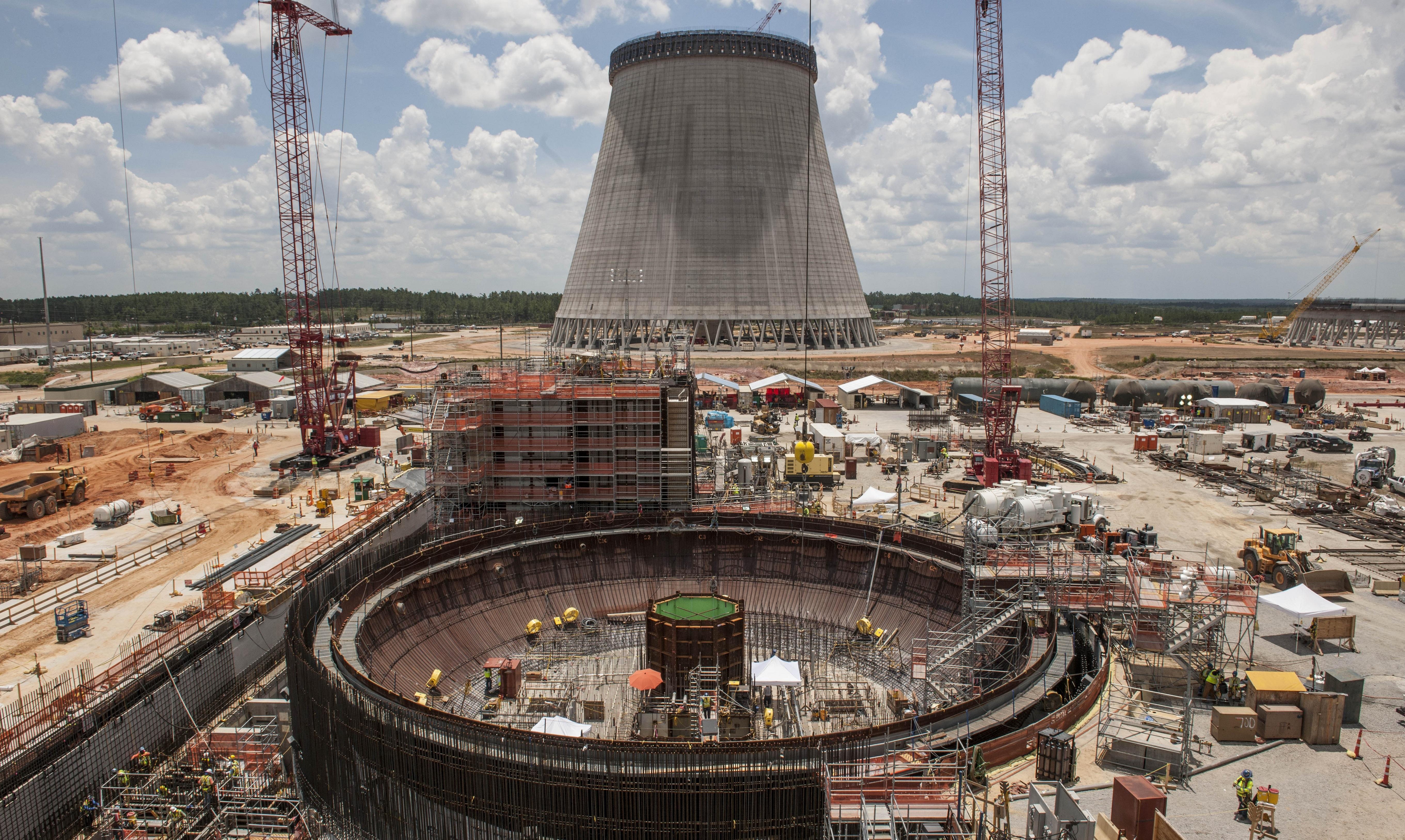 Fotogalerie: Výstavba bloků s reaktory AP1000