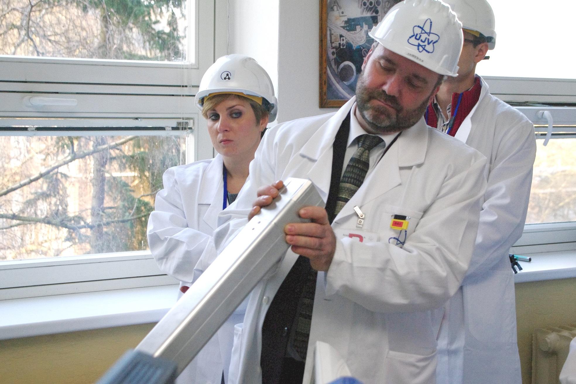 Bezpečnost jaderné energetiky je prioritou ÚJV Řež