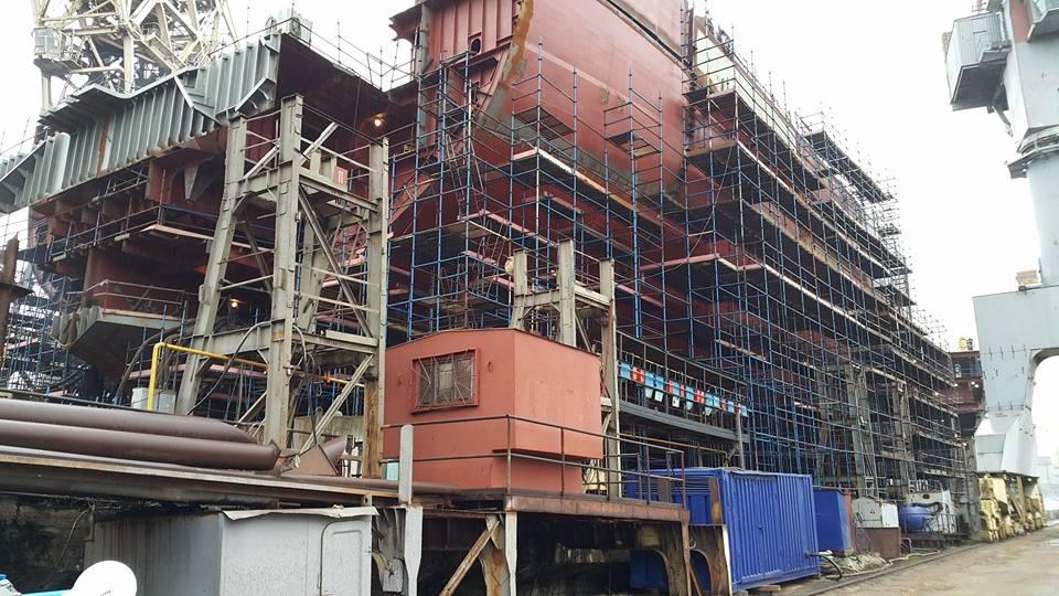 Fotografie: Stavba jaderného ledoborce nové generace