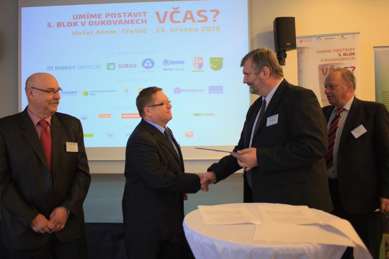 Energoregion 2020 podepsal dohodu o spolupráci s Energetickým Třebíčskem