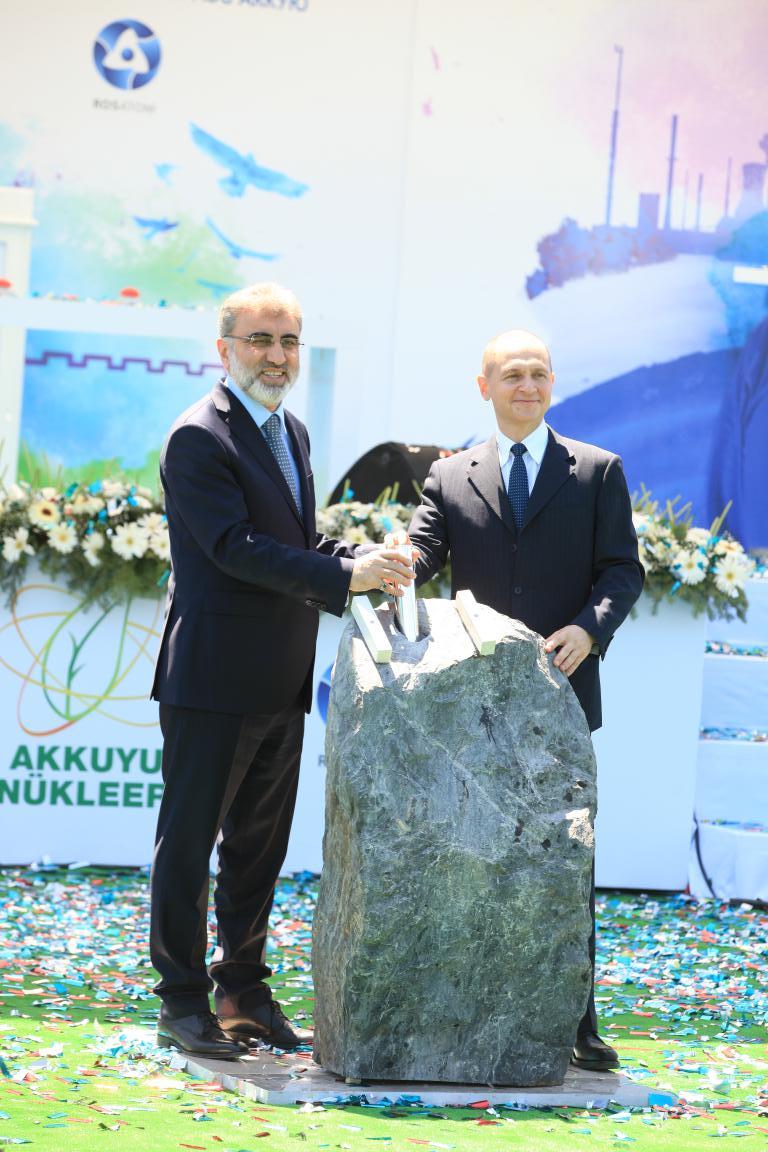 V Turecku začaly práce na výstavbě JE Akkuyu