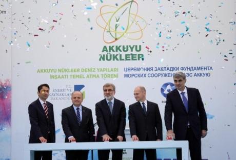Byly zahájeny zemní práce pro první tureckou jadernou elektrárnu