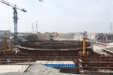 Fuqing 5 nuclear island pit - 460 (CNNC)