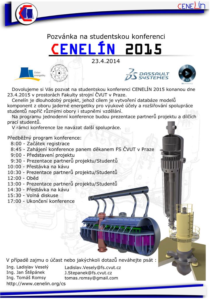 Konference CENELÍN 2015, 23. 4. 2015