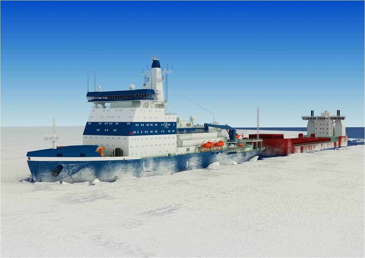 Rosatomflot přidá do své flotily dva nové moderní jaderné ledoborce
