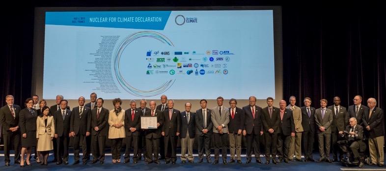 Česká nukleární společnost se připojila k iniciativě Nuclear for Climate