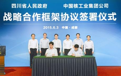 CNNC podepsala rámcovou dohodu s čínskou provincií S'-čchuan