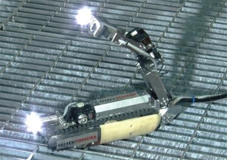 Primární okruh druhého bloku JE Fukušima bude prozkoumávat další robot