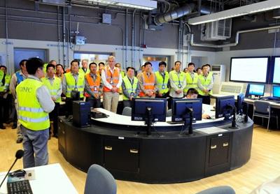 V jaderné elektrárně Chaj-jang byla zprovozněna bloková dozorna