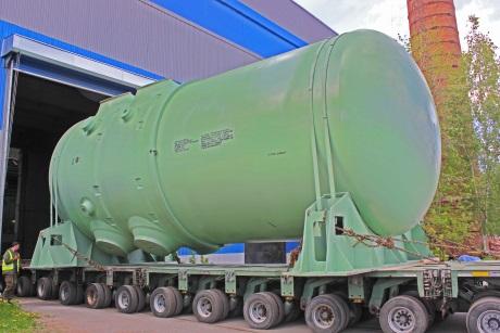 Na staveniště čtvrtého bloku JE Rostov byla vypravena tlaková nádoba reaktoru