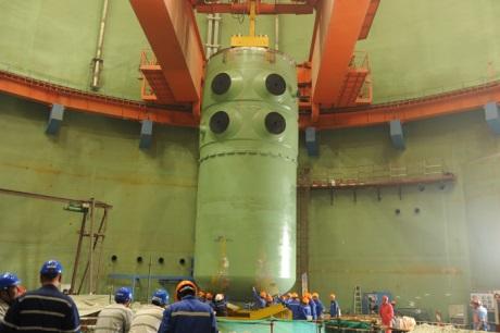 Na třetím bloku jaderné elektrárny Tchien-wan byla nainstalována tlaková nádoba reaktoru