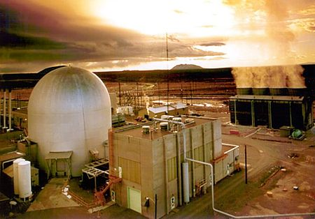 Americký experimentální množivý reaktor EBR-II byl zalit betonem
