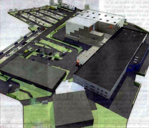 Areva rozšiřuje provoz zařízení v Sully-sur-Loire