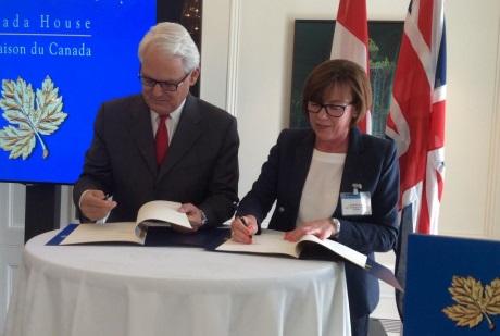 Kanada a Velká Británie rozšiřují jadernou spolupráci