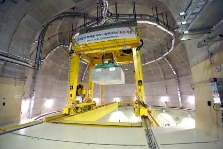 Do jihokorejského úložiště byl uložen první radioaktivní odpad