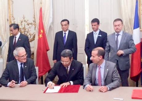Čína a Francie dále posilují jadernou spolupráci