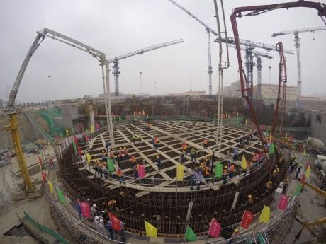 Začala výstavba šestého bloku jaderné elektrárny Chung-jen-che