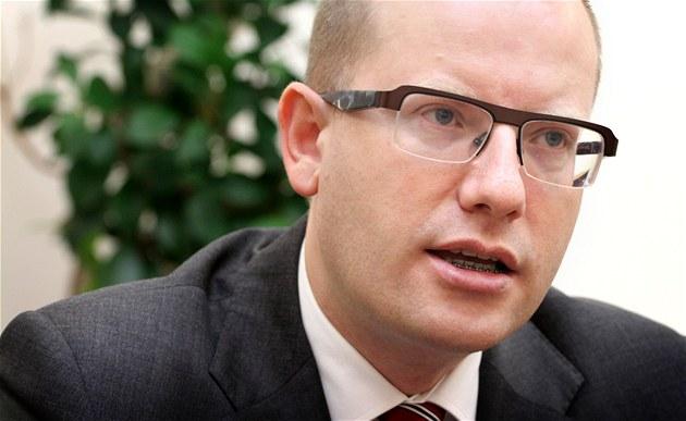 Energetická unie nemá podle Sobotky omezit právo energetické volby