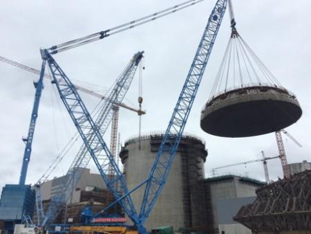 Sanmen 2 dome installation - 460 (CNEC)