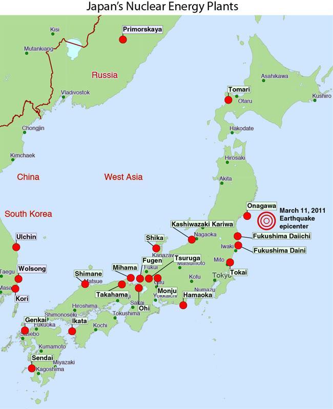 Jádro pomůže Japonsku dosáhnout klimatických cílů