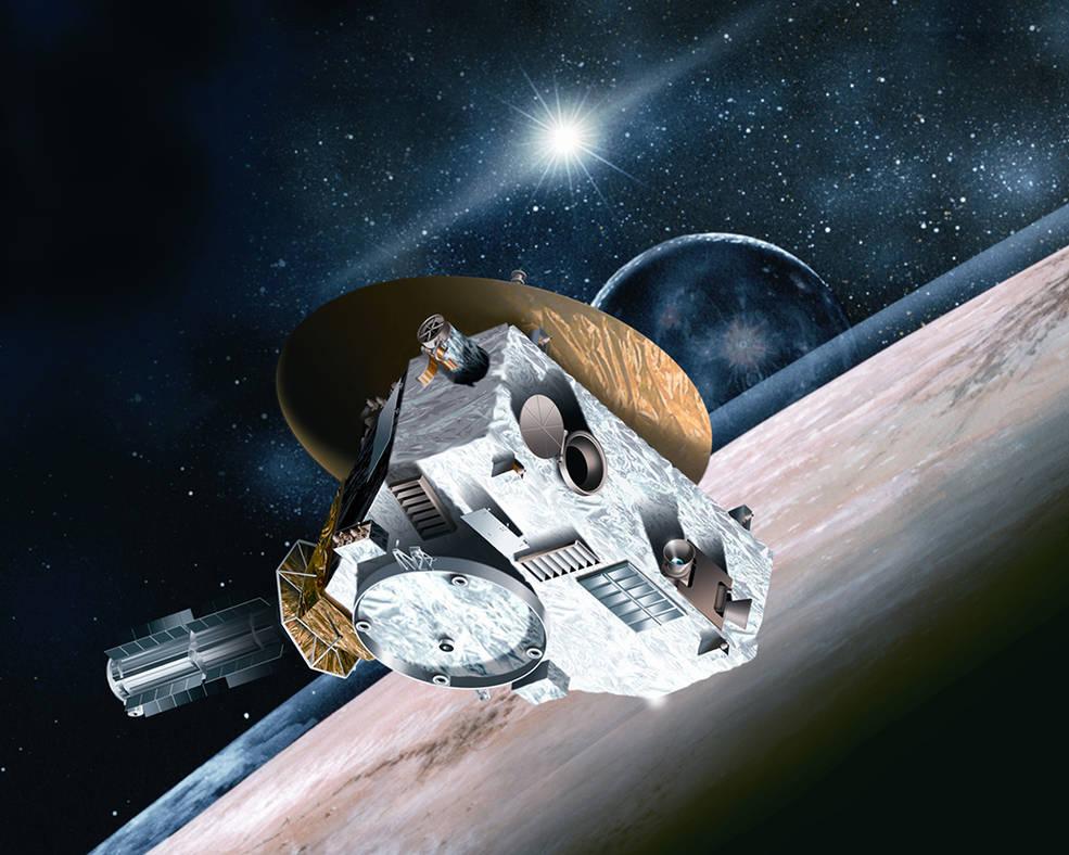 K Plutu se blíží sonda New Horizons, která bere energii z jádra