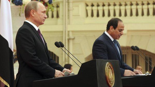 Premiér Medveděv: Rusko-egyptská dohoda bude podepsána během několika měsíců