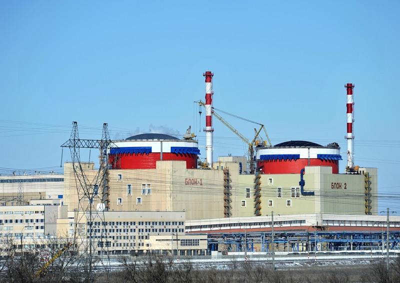 Ruská výstavba jaderných elektráren pokračuje, na vstoupení do komerčního provozu se připravuje třetí blok JE Rostov
