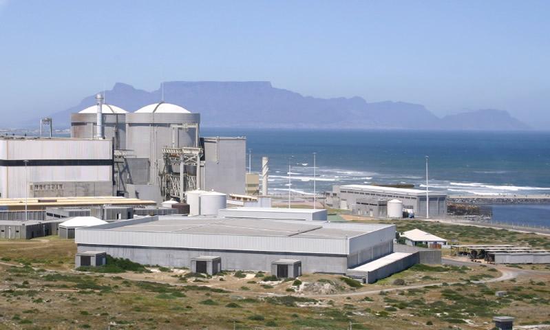 Nové úložiště použitého paliva pro jadernou elektrárnu Koeberg
