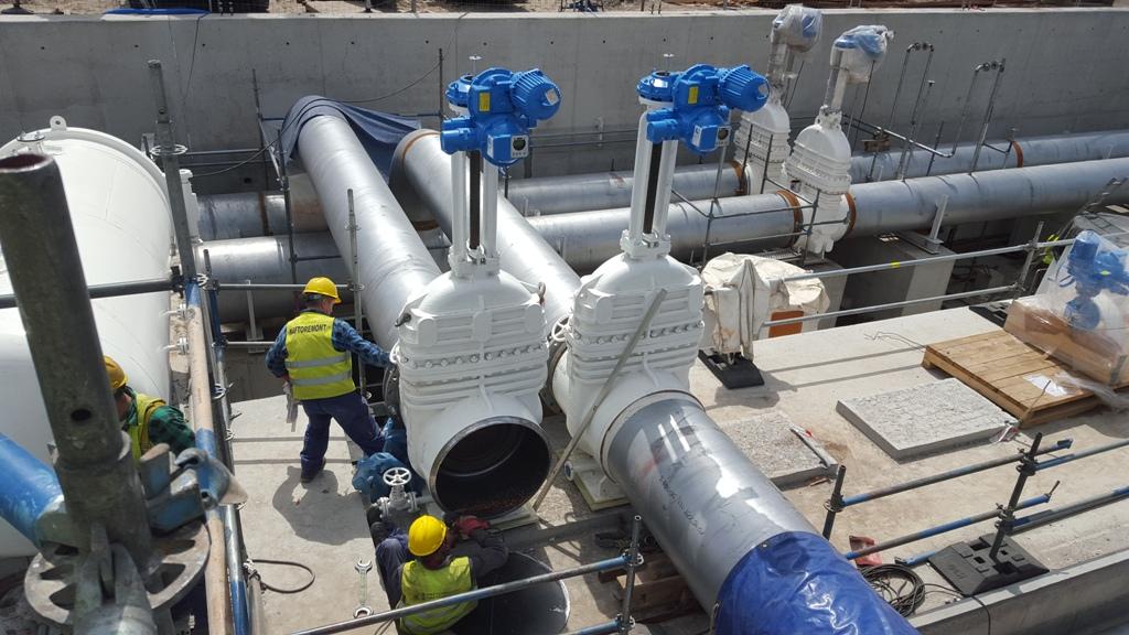 Armatury Arako jsou nainstalovány vnejvětším ropném terminálu v Polsku