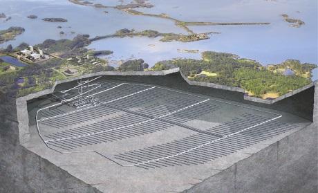 Švédská společnost SKB chce v roce 2019 začít budovat trvalé úložiště