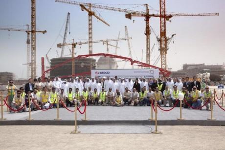 Spojené arabské emiráty začaly stavět čtvrtý jaderný blok