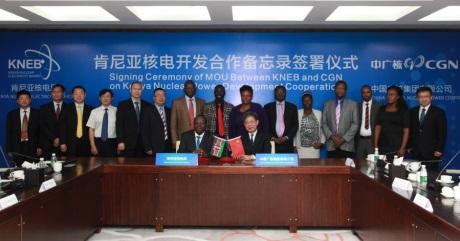 Čínská společnost CGN chce spolupracovat s Keňou v oblasti jaderné energetiky
