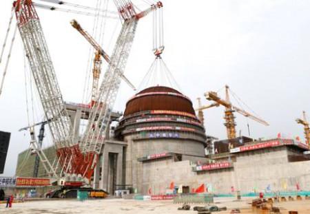 Tianwan 4 dome CNNC 460