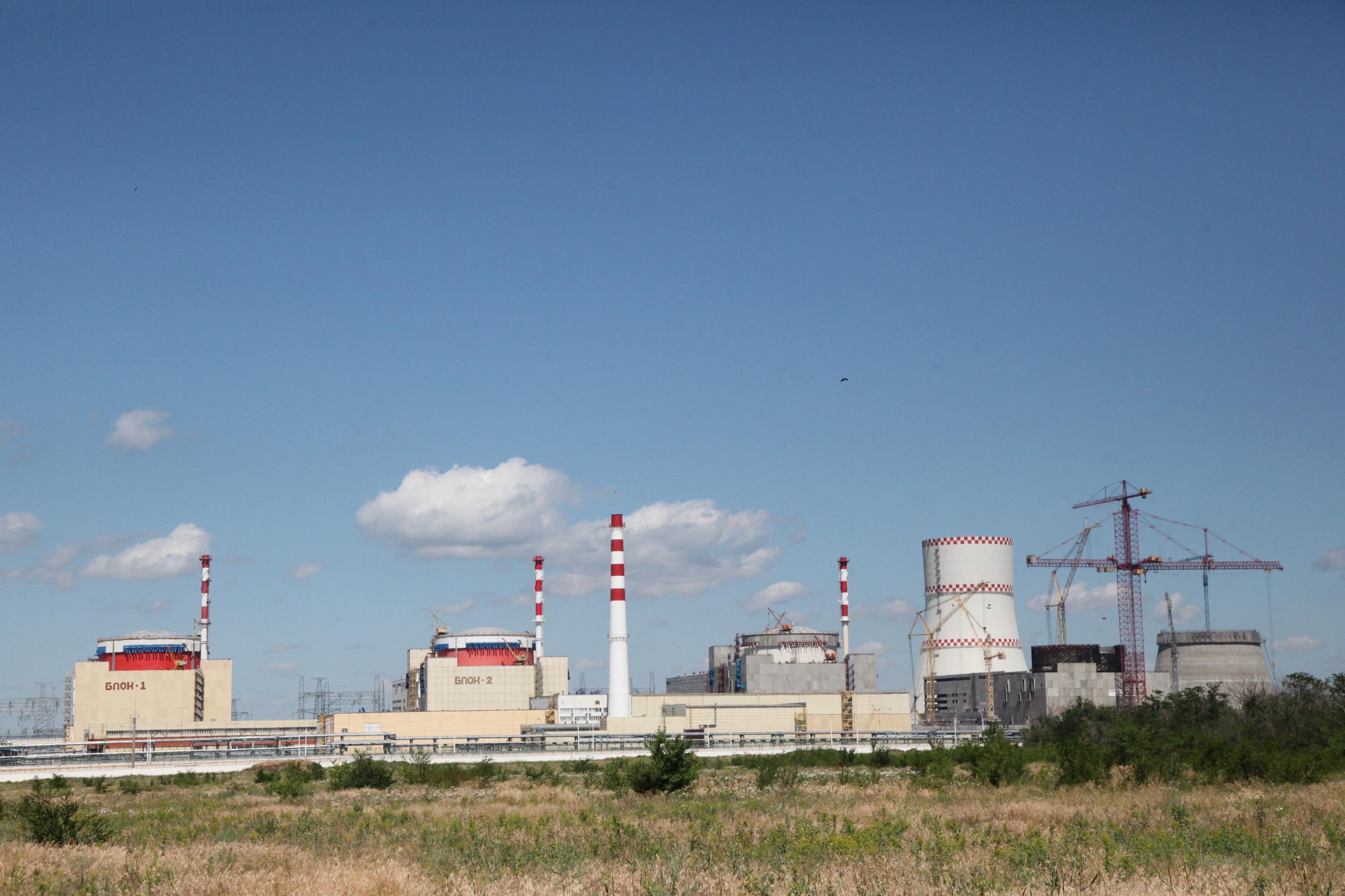 Reaktor VVER-1000 vRostovské jaderné elektrárně zahájil komerční provoz