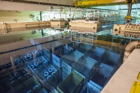 Z vyřazené jaderné elektrárny Oldbury bylo vyvezeno veškeré jaderné palivo