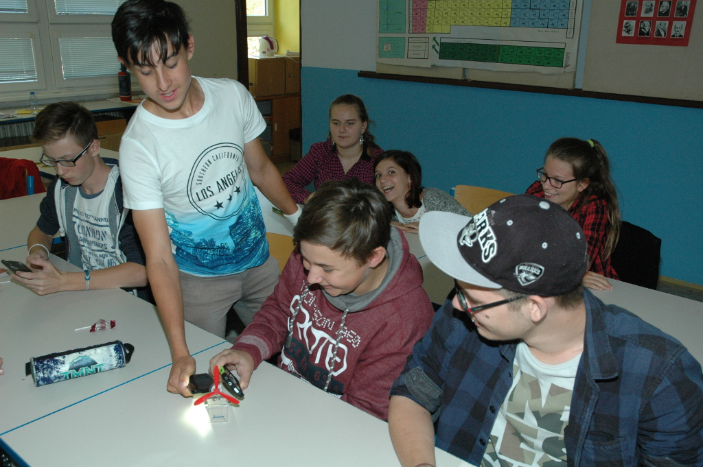V říjnu odstartovaly další besedy o energetice na pražských školách