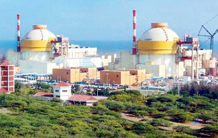 The Koodankulam nuclear power project in Tamil Nadu.  20Pubsep2011