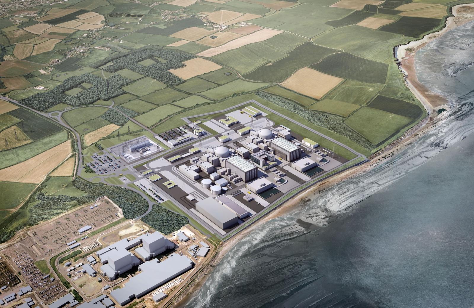 Společnost EDF vybrala další dodavatele pro projekt jaderné elektrárny Hinkley Point C