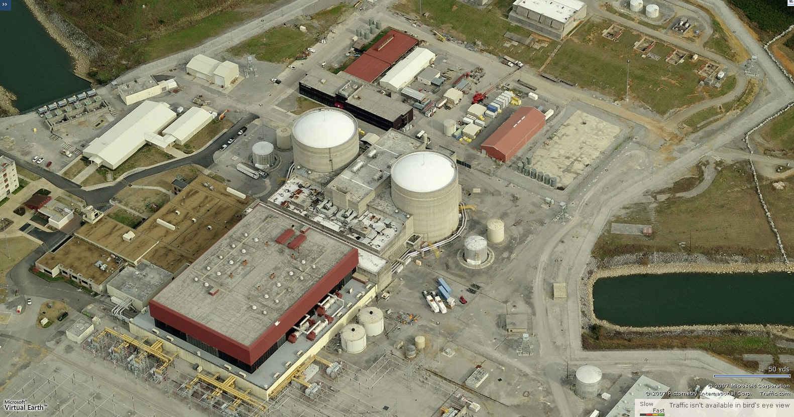 NRC prodloužil provozní licenci jaderných reaktorů v JE Sequoyah