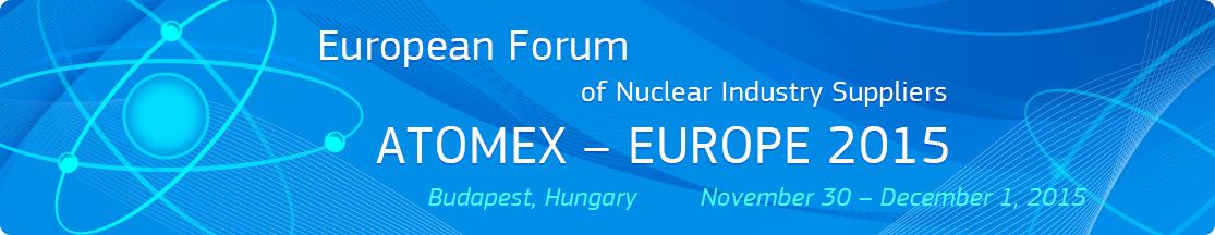 Dodavatelé jaderného průmyslu se sejdou v Maďarsku na fóru ATOMEX-Europe