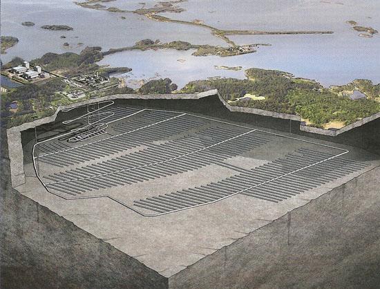 Švédský regulační úřad SSM potvrzuje vhodnost lokality Forsmark pro hlubinné úložiště