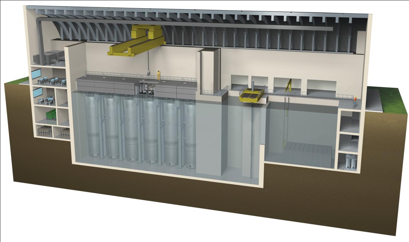 Areva bude dodávat palivové soubory pro malé modulární reaktory NuScale