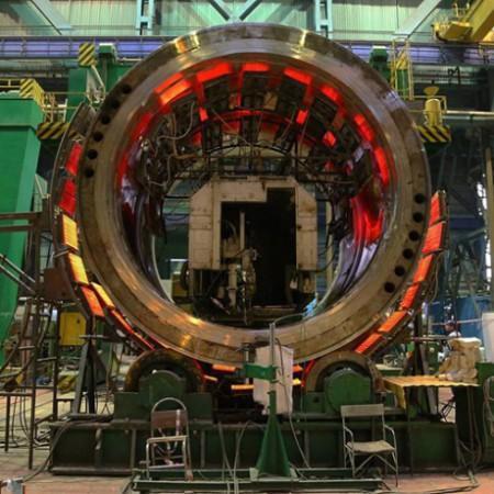 Ostrovets 1 vessel assembly - 460 (Atomenergomash)